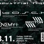2016-11-18 Industrial Night, Oldenburg