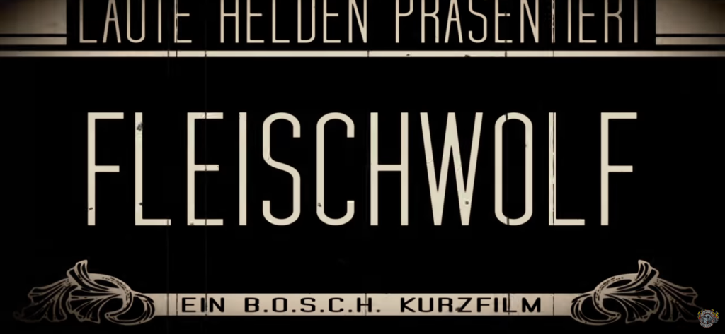 Lyric Video Fleischwolf